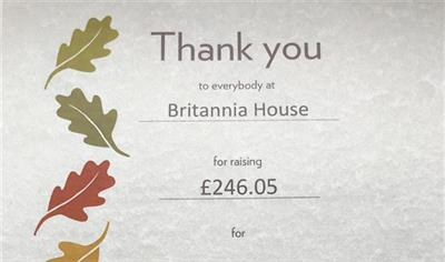 We have raised £246.05 for lovetheforest!