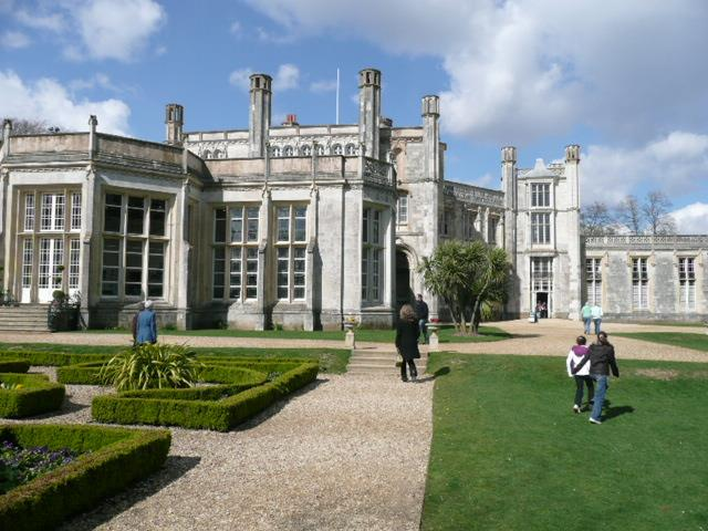 Highcliffe Castle (where your host got married)
