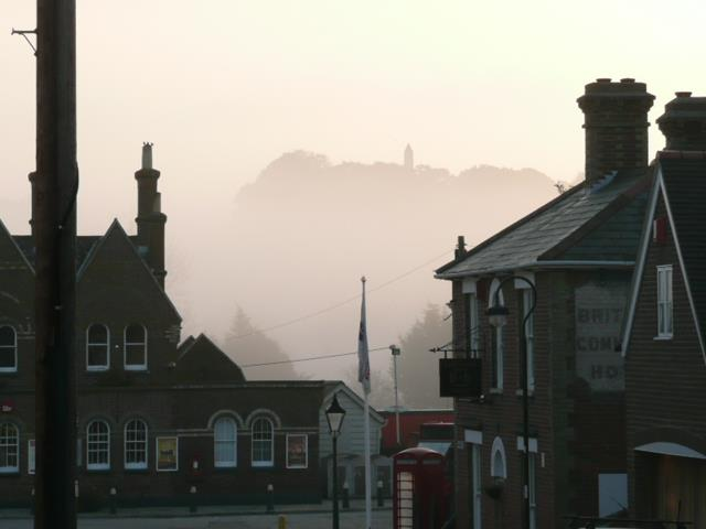 Morning Mist in Station Street